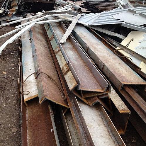 Швеллер б/у 18П бывший в употреблении, лежалый сталь 3пс длиной от 4 до 9 метров