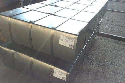 Лист 0,5х1250х2500 сталь 08кп холоднокатаный (прокат листовой х/к) ГОСТ 19904-90