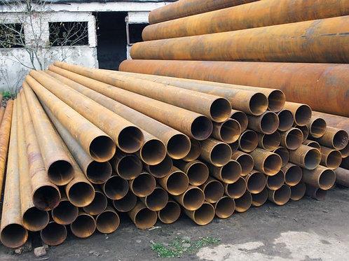 Труба б/у 219х10, Труба бу лежалая (пар,газ,нефть,вода) длина 4-12 метров