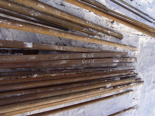 Полоса 60х16 стальная горячекатаная сталь 3пс/сп (Сталь 1-3пс/сп) ГОСТ 103-76