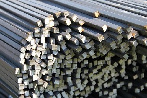 Квадрат 12х12 стальной горячекатанный сталь 3пс/сп ГОСТ 2591-2006 в прутках