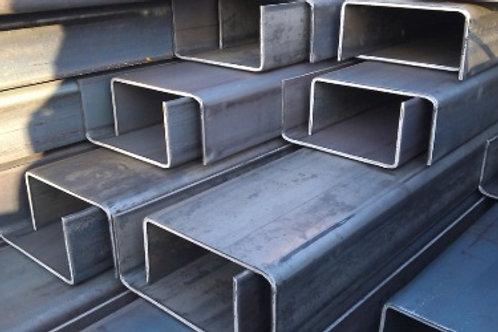 Швеллер гнутый 80x60x4 металлический сталь 3пс/сп ГОСТ 8278-83 длиной 12 метров