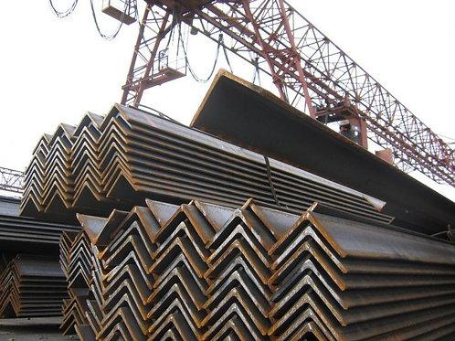 Уголок низколегированный 63х63х6 ст 09Г2С-15 ГОСТ 8509-93 длиной 12 метров