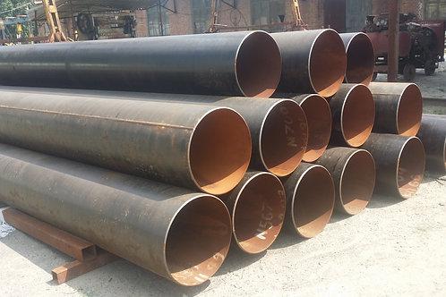 Труба бу 530х12 восстановленная с фаской из под пара, газа, нефти длина 9-12 м
