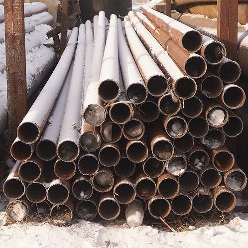 Труба б/у 133х7, Труба бу лежалая (пар,газ,нефть,вода) длина 4-12 метров