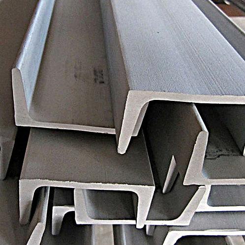 Швеллер 18У низколегированный металлический ст09Г2С-15 ГОСТ8240 длиной 11 метров