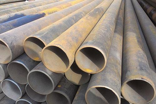 Труба бу 114х4 восстановленная с фаской из под пара, газа, нефти длина 9-12 м
