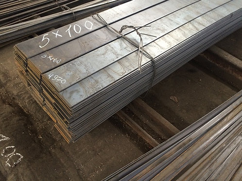 Полоса 100х5 стальная горячекатаная сталь 3пс/сп (Сталь 1-3пс/сп) ГОСТ 103-76