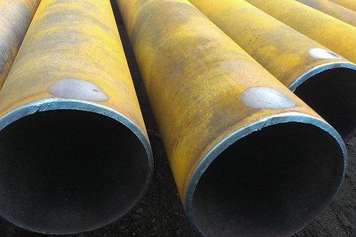 Труба бу 160х8 восстановленная с фаской из под пара, газа, нефти длина 9-12 м