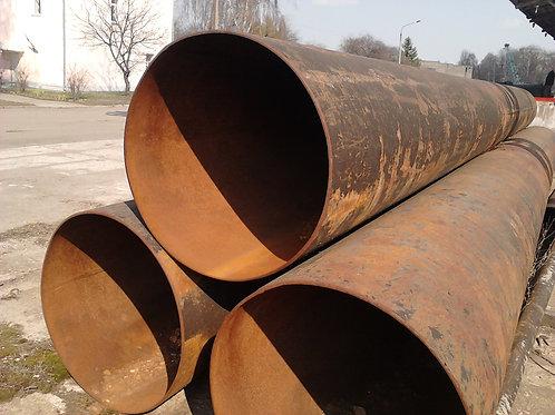 Труба б/у 920х8, Труба бу лежалая (пар,газ,нефть,вода) длина 4-12 метров