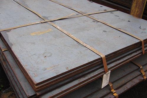 Лист 8х2000х6000 мм (г/к) стальной низколегированный ст. 09Г2С-15 ГОСТ 19903-74