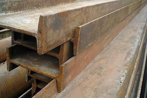 Балка б/у 12, 12К1, лежалая, бу восстановленная, длиной от 6 до 11 метров