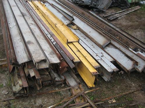 Швеллер б/у 16П бывший в употреблении, лежалый сталь 3пс длиной от 4 до 9 метров
