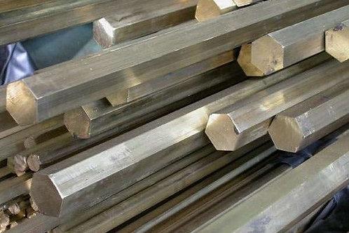 Шестигранник 60 сталь 20 калиброванный холоднокатанный ГОСТ 7417 длиной 6 метров