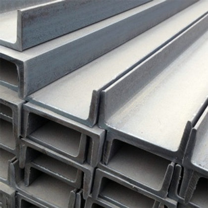 Швеллер 14П низколегированный металлический ст09Г2С-12 ГОСТ8240 длиной 12 метров