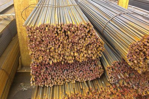 Квадрат 20х20 стальной горячекатанный сталь 3пс/сп ГОСТ 2591-2006 в прутках