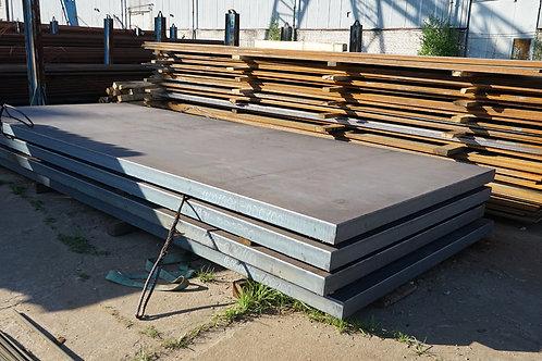 Лист 100х1500х6000 сталь 45 конструкционный стальной горячекатанный ГОСТ 19903