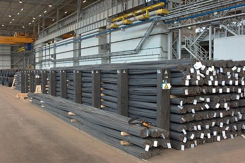 Катанка стальная диаметром 6 мм ст. 3пс/сп ГОСТ 30136-95 длиной 6 метров