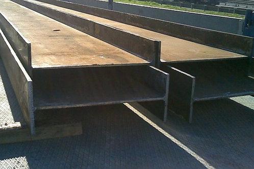 Балка двутавровая 70Б1 ст 3сп/пс АСЧМ 20-93 длина 12 метров