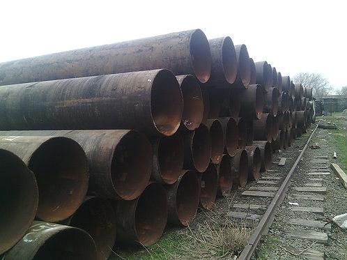Труба б/у 820х12, Труба бу лежалая (пар,газ,нефть,вода) длина 4-12 метров