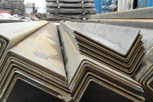 Уголок стальной неравнополочный 160x100x10 ст 3 пс ГОСТ 8510-86 длиной 12 метров