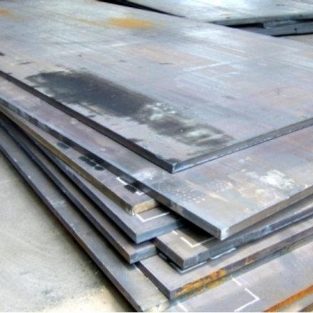 Лист 45х1500х6000 мм (г/к) стальной горячекатанный сталь 3 СП/ПС ГОСТ 19903-74