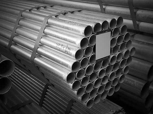 Труба Ду 20х2,8 оцинкованная водогазопроводная ГОСТ 3262-1975 длиной 7,8 метров