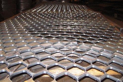 Лист ПВЛ 510, 510х1000х2000 просечно-вытяжной лист металлический ГОСТ 8706-78