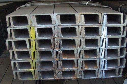 Швеллер 14У горячекатаный металлический ст. 3пс/сп ГОСТ 8240-97 длиной 12 метров