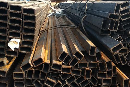 Труба 100х50х4 прямоугольная электросварная ГОСТ 8645; 30245 длиной 12 метров