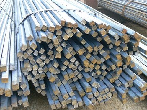 Квадрат 18х18 стальной горячекатанный сталь 3пс/сп ГОСТ 2591-2006 в прутках