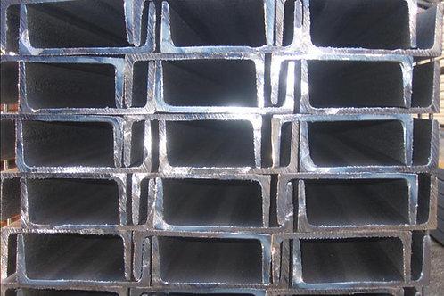 Швеллер 24У низколегированный металлический ст09Г2С-15 ГОСТ8240 длиной 12 метров