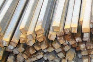 Квадрат 22х22 стальной горячекатанный сталь 3пс/сп ГОСТ 2591-2006 в прутках