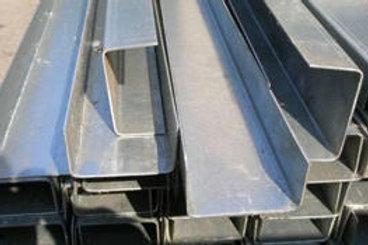 Швеллер гнутый 120x50x3 металлический сталь 3пс/сп ГОСТ 8278-83 длиной 12 метров