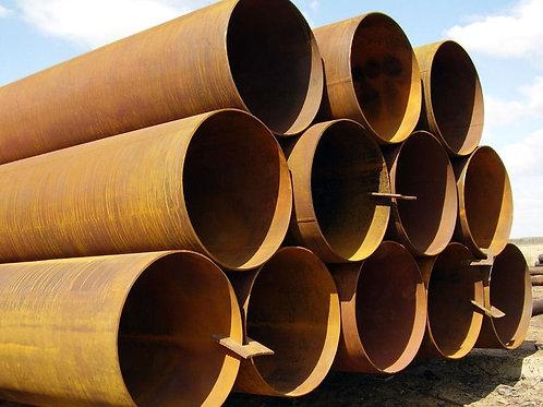 Труба бу 1020х9 восстановленная с фаской из под пара, газа, нефти длина 9-12 м