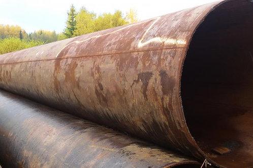 Труба б/у 630х12, Труба бу лежалая (пар,газ,нефть,вода) длина 4-12 метров