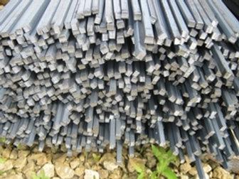 Квадрат 10х10 стальной горячекатанный сталь 3пс/сп ГОСТ 2591-2006 в прутках