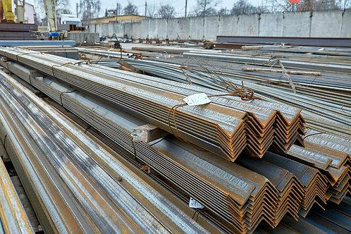 Уголок низколегированный 80х80х6 ст 09Г2С-15 ГОСТ 8509-93 длиной 12 метров