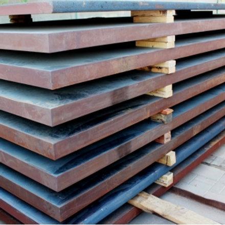 Лист 32х2000х6000 мм (г/к) стальной горячекатанный сталь 3 СП/ПС ГОСТ 19903-74
