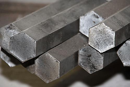 Шестигранник 41 стальной горячекатанный сталь 45 ГОСТ 2879-88 длиной 6 метров