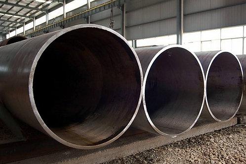 Труба бу 1220х12 восстановленная с фаской из под пара, газа, нефти длина 9-12 м