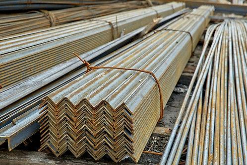 Уголок низколегированный 160х160х10 ст 09Г2С-12 ГОСТ 8509-93 длиной 9 метров