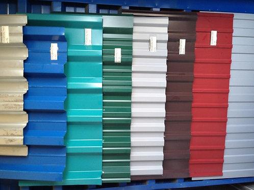 Профнастил Н75 0,9х750х1-12м, Профлист окрашенный в цвет синий RAL 5005