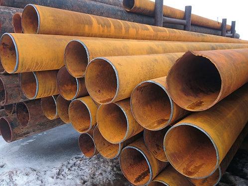 Труба бу 273х4 восстановленная с фаской из под пара, газа, нефти длина 9-12 м