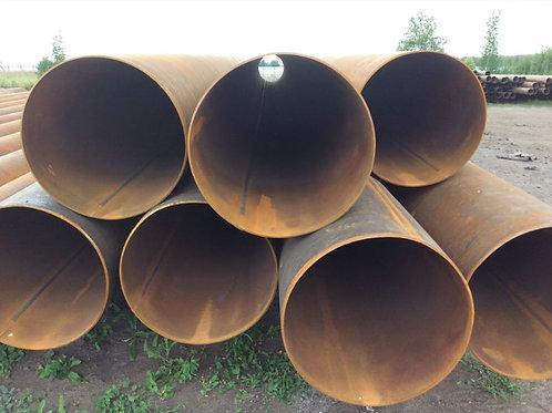 Труба бу 720х8 восстановленная с фаской из под пара, газа, нефти длина 9-12 м