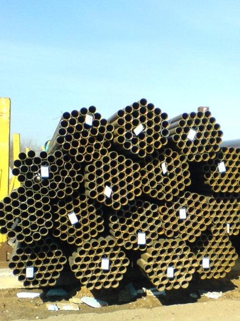 Труба эл.св 48х2,5 электросварная металлическая ст.3 ГОСТ 10704 длиной 6 метров
