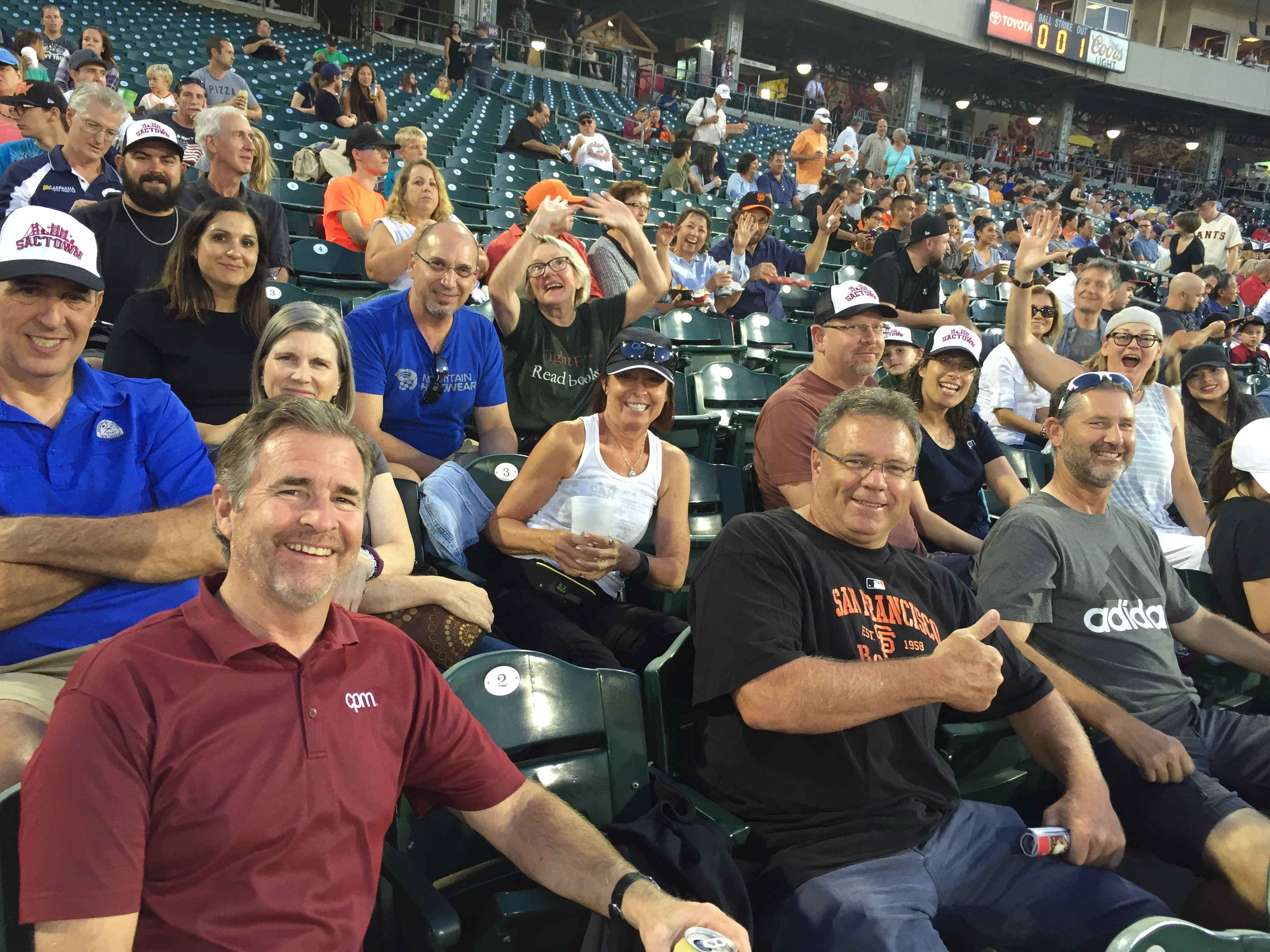 CPM Rivercats Game Night