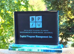 2018 Best Places to Work Award