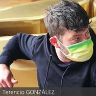 Terencio González mask of art marion la
