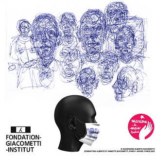 visuel alberto giacometti bic mask of ar